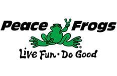 Peace Frogs Logo