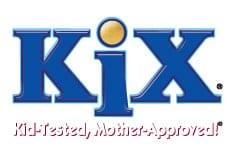 Kix Cereal Logo.
