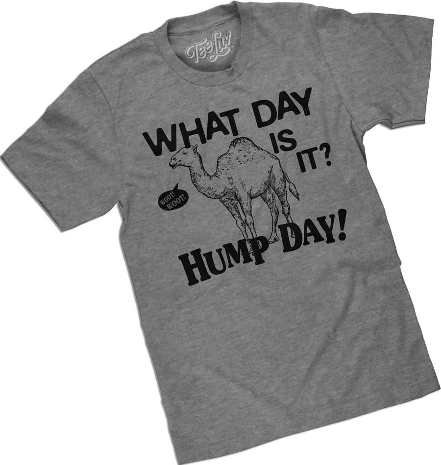 Hump day tee shirt